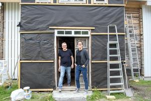 Magnus och Malin Westman renoverar sitt 1800-talshus.
