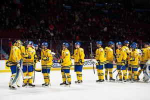 Juniorkronorna besegrade Danmark under natten till tisdag. Bild: Joel Marklund/Bildbyrån