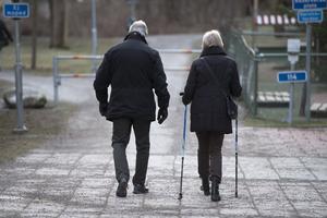 Regelbunden fysisk aktivitet är associerat med ett bättre immunförsvar och minskad dödlighet i säsongsinfluensa hos personer som är 65 år och äldre. Foto: Henrik Montgomery/TT