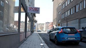 Sport och funktions gamla lokaler i Stenstan. Nu flyttar butiken till Birsta.