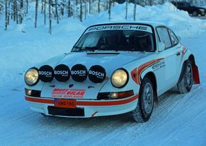 Rallycampen i Herrö och Överberg lockade drygt 20 ekipage.