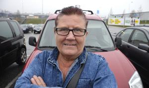 Jill Wedin, 57, lokalvårdare, Malungen: