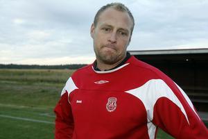 Dennis Lundgren, tränare i Mohed.