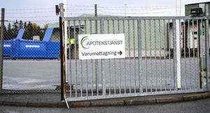 Följetongen om höstens dåligt fungerande leveranser av sjukvårdsmateriel från Apotekstjänst till bland annat Dalarna fortsätter. Bild: Pontus Lundahl/TT