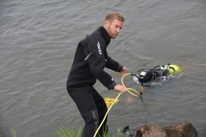 Andreas Voss är redo att hoppa i om Kjell Andersson behöver hjälp.