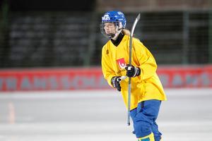 Malin Persson blev tremålsskytt mot Norge. Imorgon väntar Norge igen i semifinalen.