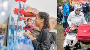 Rimbo höstmarknad hölls traditionsenligt den första torsdagen i oktober.