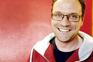 Mick Hellgren jobbar som strateg för nästa generations lärande på kunskapskontoret i Sandviken.