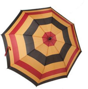 En och annan hästfantast reagerar säkert på det här paraplyet, oavsett det så är det snyggt, färglatt men ändå smakfullt. Finns hos Stromsbergsgard.se
