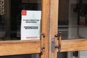 Museet är stängt för renovering, och lappen på dörren kommer av allt att döma att sitta kvar till sommaren 2022.