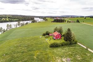 Denna villa i Stora Skedvi var det tionde mest klickade dalaobjektet under förra veckan.Foto: Kristofer Skog