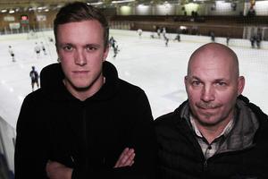 Hampus Malm och Micke Krantz i S/L Hockey är starkt kritiska till både Fagerstas agerande och förbundets hårda straff.