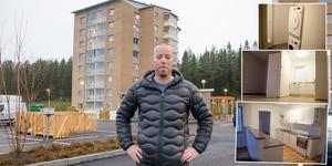 Mitthem har byggt 88 nya lägenheter i Bosvedjan. Nu är den första etappen klar och väntar på att de nya hyresgästerna ska flytta in.