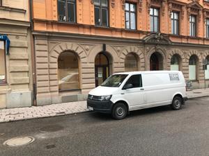 Lilla lokalen mellan Johnells och begravningsbyrån på Jovisgatan är också den tom.