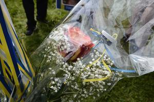 Den klassiska rosen med en studentmössa.