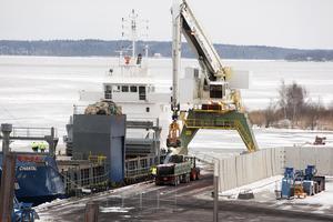 För fem år sedan började importen av sopor som bränns i Mälarenergis kraftvärmeverk i Västerås.
