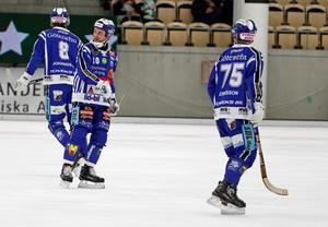 David Karlsson var inte alltför nedslagen efter matchen mot SAIK.