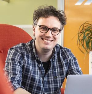 Andreas Eriksson, affärsutvecklare Diös, tror på konceptet och ser att det kommer kunna öppnas PickPackPost-service i fler städer.