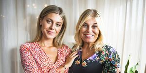 Foto: Hanna Franzén/TT Bianca Ingrosso tillsammans med sin mamma Pernilla Wahlgren.