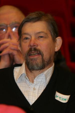 Ensamföretagaren Birger Andersson från Bergsjö hade lämnat massagebänken för att lyssna av framtidsvisionerna.