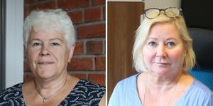 Eva Dahlgren (C), ordförande i barn- och utbildningsnämnden och Karina Bronell, skolchef i Falköping, svarar på en insändare från en elev som oroas över smittspridning på gymnasiet.