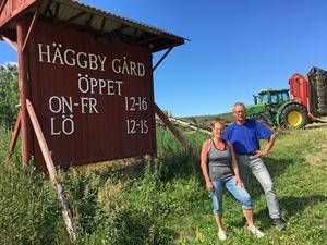 Synnöve och Håkan Häggdin har aldrig ångrat att de startade gårdmejeri.