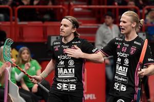 Världsstjärnan och lärjungen. Alexander Galante-Carlström var viktig för Casper Backby i samband med flytten till Falun. Foto: Anders Wiklund/TT