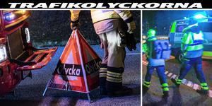 Bilderna är tagna vid andra tillfällen den olycka som Jimmy  Nygren berättar om. Foto: Johan Nilsson/TT/ Tony Persson