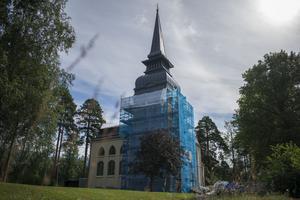 Kyrkan vars nya färgval varit under diskussion bland församlingsmedelmmarna i Grycksbo.