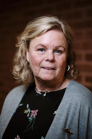 Tina Sandberg (SD), 68 år, Hallstavik. Barn- och skolnämnden, Kommunalförbundet Sjukvård och Omsorg i Norrtälje.