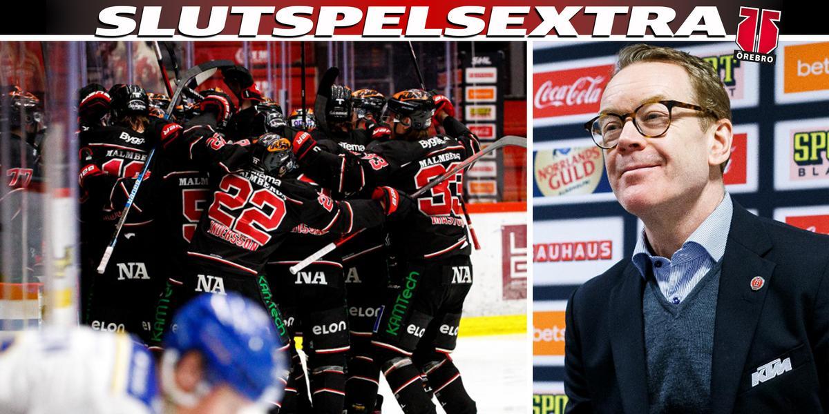 """Örebro Hockeys historiska kväll – Eriksson stolt: """"Alla killarna är fantastiska"""""""