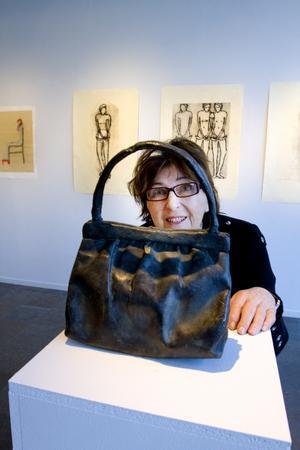 Från utställningen på Konstcentrum 2010. Bild: Håkan Selén