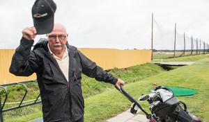 Per-Olof (P-O) Bergius började spela golf när han var 78 år.