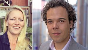 Aline Varre (SN) och Nicholas Nikander (L) har blivit invalda i kommunfullmäktige tack vare personkryss.