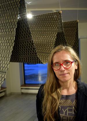 Aleksandra Jarosz Laszlo är själv etablerad konstnär och hoppas få tid till det egna skapandet vid sidan om arbetet som konstintendent.