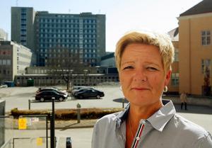 Liselott Sjöqvist, sjukhuschef, region Västmanland.