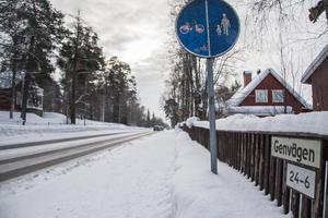 På Genvägen–Krondikesvägen ska sista etappen av expresscykelvägarna byggas.
