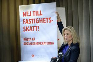 Enligt Januariavtalet skall en stor skattereform genomföras. Förhandlingarna kommer snart att inledas, men det lär inte bli lätt att komma överens, till exempel om en ny fastighetsskatt skall införas. Skattefrågan blir därför en bra värdemätare på om Januariavtalet kommer att hålla.  Foto: Janerik Henriksson, TT.