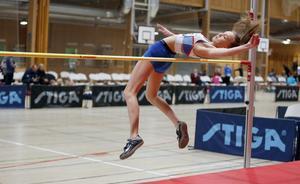 Lovisa Blomqvist, Marieby, hade en framgångsrik helg. Hon vann både höjd, stav och 60 meter i F15 samtidigt som hon kom tvåa i längd och trea i kula.