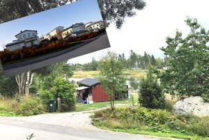 Är Harkskär rätt plats för ett villaområde? Det ska nu Gävle kommuns samhällsbyggnadskontor utreda på begäran av markägaren AJ Sverige AB som vill kunna sälja ett åttiotal tomter i området.Bilden är ett montage.