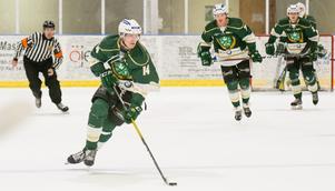 Jesper Rosdahls Malungs IF är Anton Bäcks passion. Transtrandskillen kommenterar varje hemmamatch i Hockeyettan.