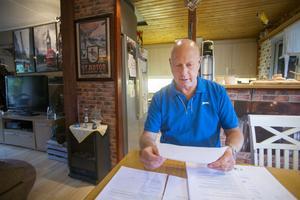Det försenade provsvaret har förutom oro inneburit en hel del pappersarbete för Thomas Möller. Vid sidan av Ivo-anmälan har han också ett ärende hos Löf, ett försäkringsbolag som betalar ut ersättning vid vårdskada.