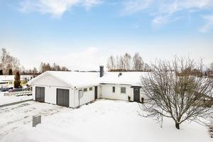 Denna femrumsvilla på Gylle i Borlänge tog sig in på topplistan Klicktoppen, på plats nio. Foto: Mäklarringen