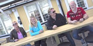 Pia Bäckström, Annika Nylén,  Bosse Stefanusson och Anders Nylén driver Rotundan, som satsar hårt under augusti.