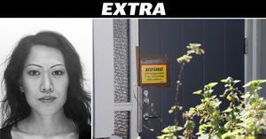 Det passfoto på försvunna Lena Wesström som polisen har gått ut med på fredagen. Polisen har sedan tidigare spärrat av kvinnans radhus i Örebro.