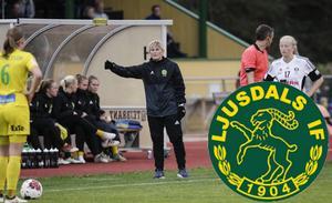 Anneli Andersén, tränare i Ljusdals IF.