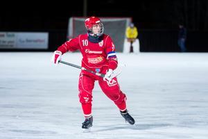 Filip Nyberg – målfarligast i Sverige enligt målsnittet.