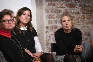 Eva Nyh Hederberg och Eva Nordlander berättade om sina erfarenheter kring företagande och styrelsejobb.