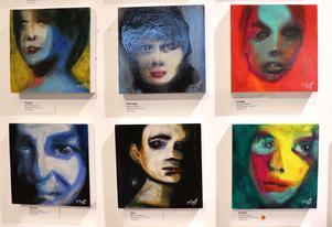 Manfred Peppers målningar visas till och med 29 februari.