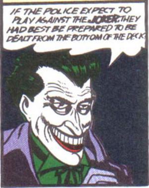 Jokern dyker upp i det första numret av serietidningen